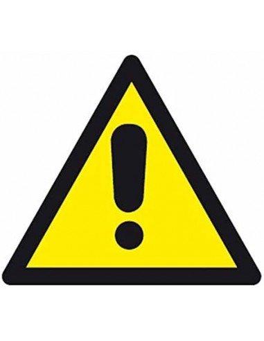 Etiquetas Señalización de Peligro Riesgo - Advertencia Apli 10434