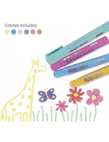 Témperas Sólidas Colores Pastel Surtidos Apli 18881 3