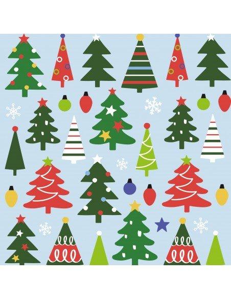 Bolsa Pegatinas Motivo Árbol de Navidad Apli 18889 3