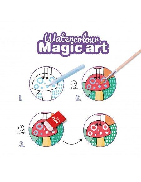 Set de Coloreado Mágico Watercolour Apli 18823 3
