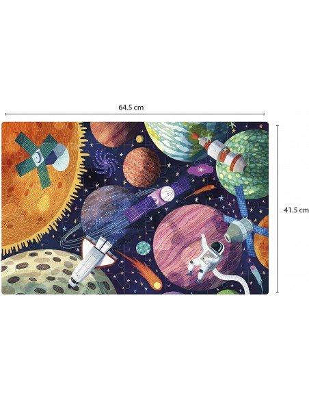 Puzzle Fluorescente Sistema Solar Apli 18812 2