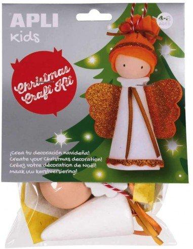 Kit Manualidad Crea Tu Ángel de Navidad Apli 14346