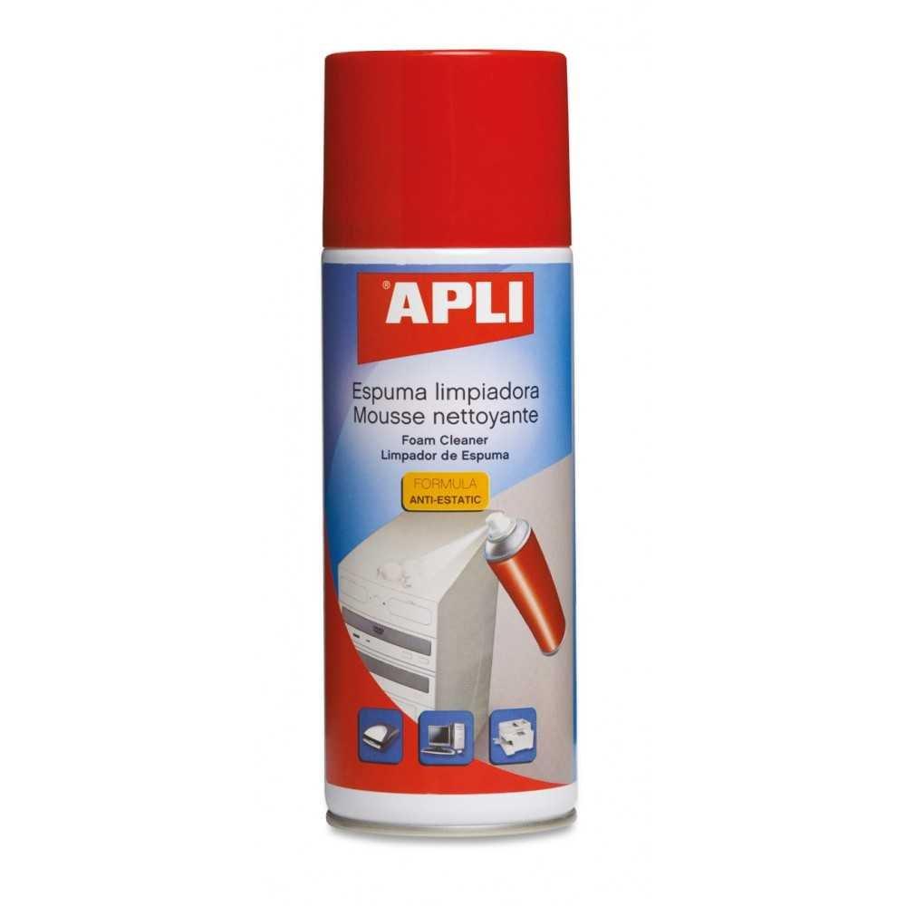 Espuma Limpiadora Antiestática 400ml Apli 11300